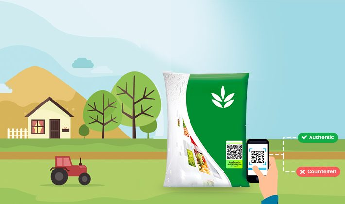 Anti-Counterfeit solution for fertilizers and pesticides