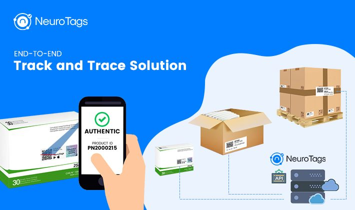 Digital Track and Trace Solution by NeuroTags