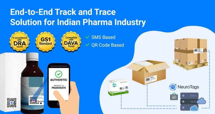 Dava Portal compliant Track & Trace with Authentication Solution by NeuroTags